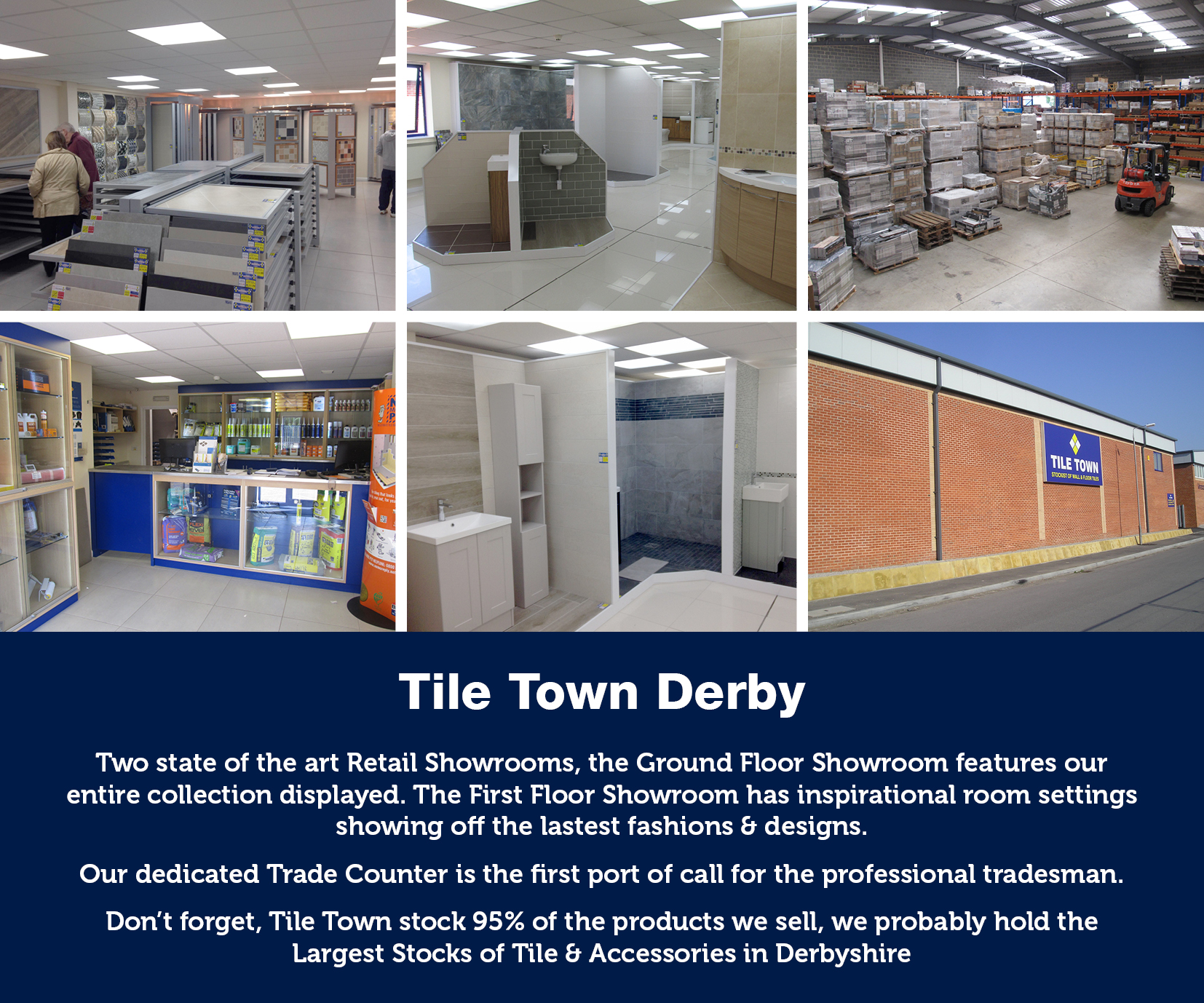 About Tile Town the East and West Midlands Leading Tile Supplier