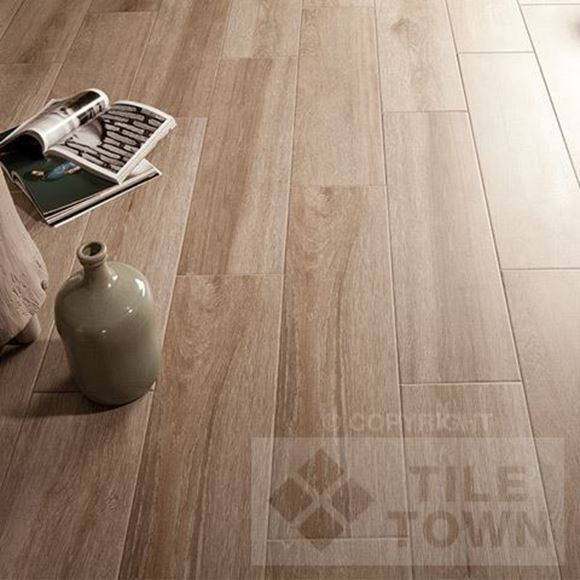 Darwin Argent Porcelain Floor tile - Reproduction of real wood