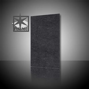 Picture of Lounge Black Polished 30x60cm Porcelain Floor Tile