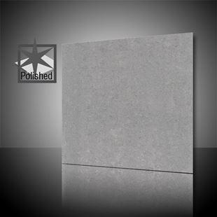 Picture of Lounge Light Grey Polished 60x60 cm Porcelain Tile