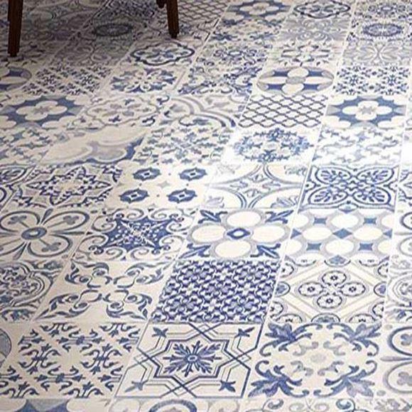 Calke Blue Porcelain Floor Tile