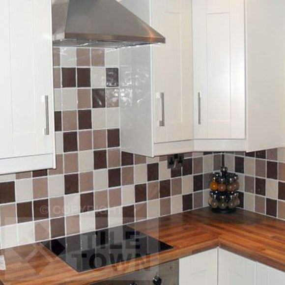 Coloured Tiles For The Kitchen Home Design