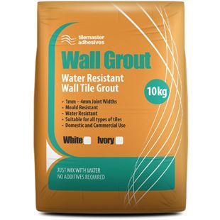 Picture of TM Wall Grout White 10kg