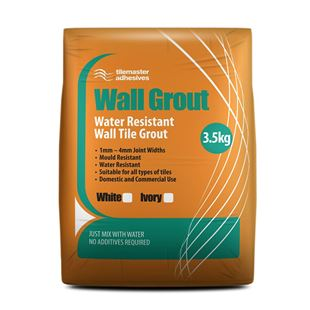 Picture of TM Wall Grout White 3.5kg