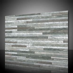 Individual Brix grey wall tile.