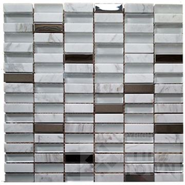 Picture of G30228 Carrara Mix Mosaic