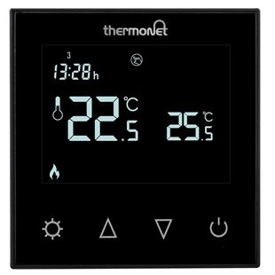 Picture of 5226 Black Glass Programmable Thermostat