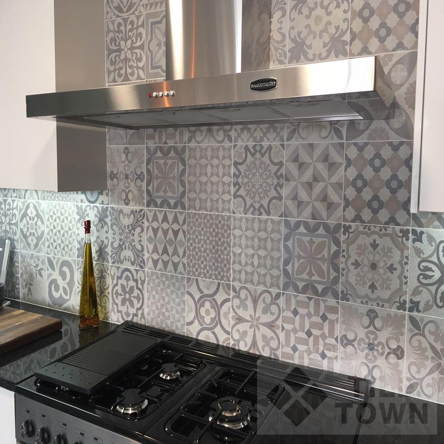 Calke Grey Kitchen Wall Tile