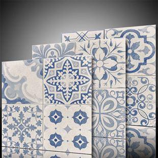Picture of Skyros Blue Porcelain Tile