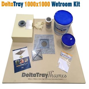Picture of 1000x1000mm Wetroom Kit