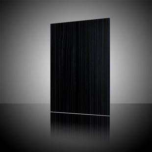 Picture of Lines Black Wall Tile