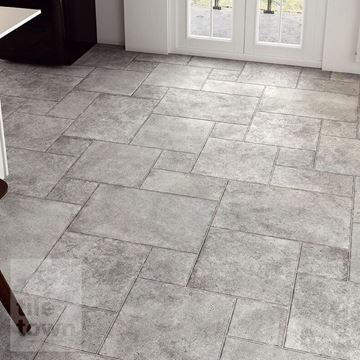 Borgogna stone grey porcelain modular mix tile