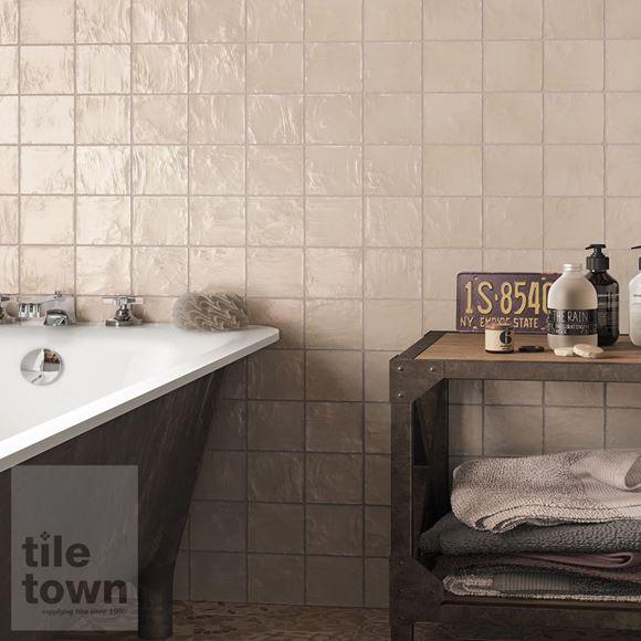 mallorca cream bathroom wall tile