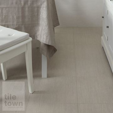 Picture of Soho arena Porcelain Floor tile within a room setting.