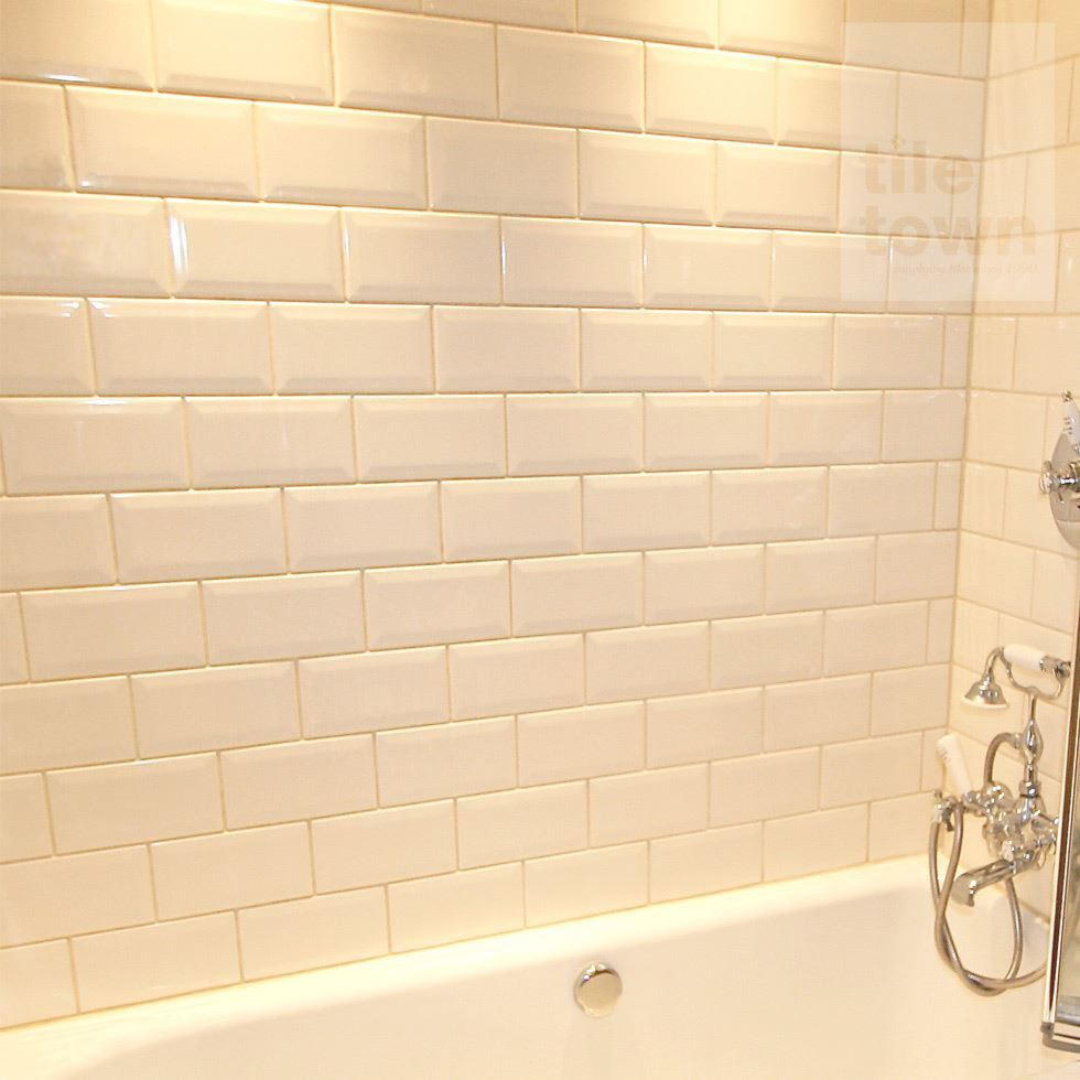 Metro Cream Bathroom Wall Tile