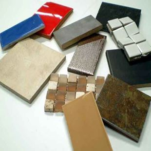 Picture of Kedleston Black  Tile (FREE SAMPLE)