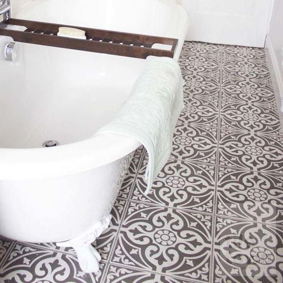 kedleston black victorian style floor