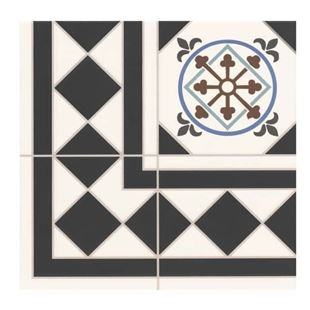 Picture of Oxford Deco Corner Tile.