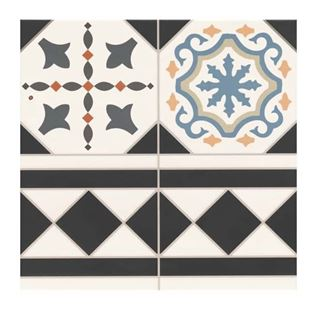 Picture of Oxford Deco Border Tile.