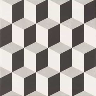 Picture of Base Cube Grey Porcelain Tile