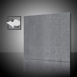 Picture of Lounge Dark Grey Matt 60x60 cm Porcelain Tile